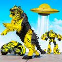 Wild Tiger Transform Bike Robot Shooting Games