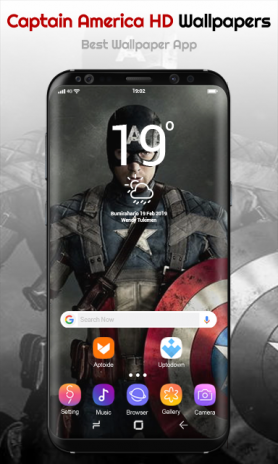 Captain America Wallpapers 10 Download Apk For Android