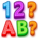 Learn 1 to 100 Numbers, ABC Alphabet Learning Game