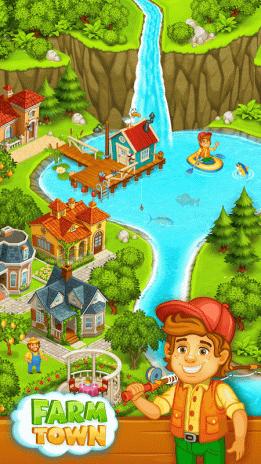 Farm Town: Happy farming Day & food farm game City 2 33 Download APK