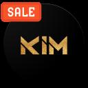 KIM BLACK Amoled Wallpapers PRO (2960x1440)📱👌👌