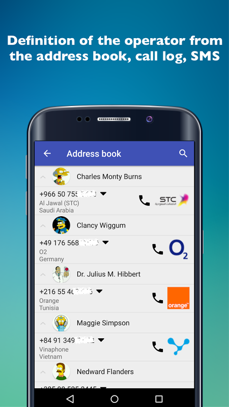 Mobile operators PRO screenshot 2