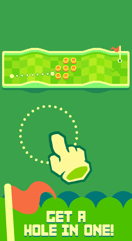 Nano Golf: Hole in One screenshot 1