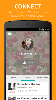 Wattpad screenshot 4