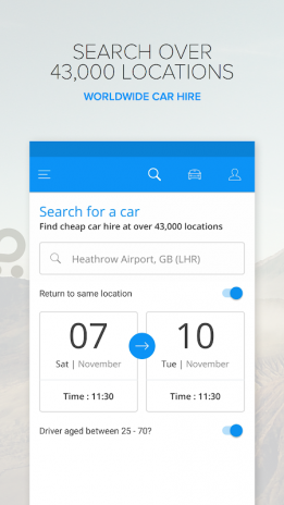 Rentalcars com Car hire App 3 31 2 Download APK for Android - Aptoide