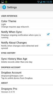 Dropsync screenshot 1
