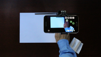 SkanApp hands-free PDF scanner Screen
