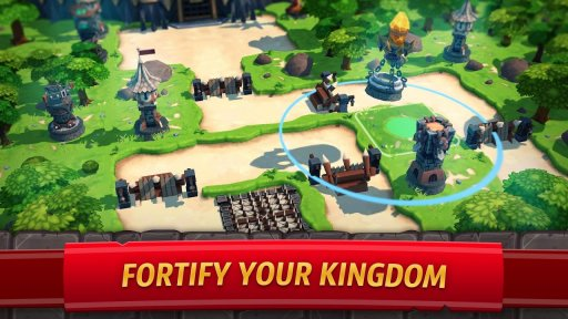 Royal Revolt 2: Tower Defense RPG and War Strategy screenshot 1