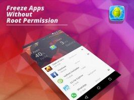 App Freezer: Force stop background apps (No root) Screen