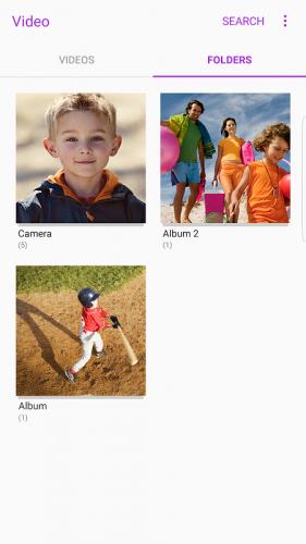 Samsung Video Library screenshot 4