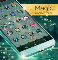 Magic Launcher Theme screenshot 1