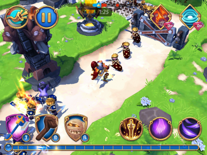 Royal Revolt 2: Tower Defense RPG and War Strategy screenshot 16