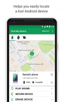 Google Find My Device Screen