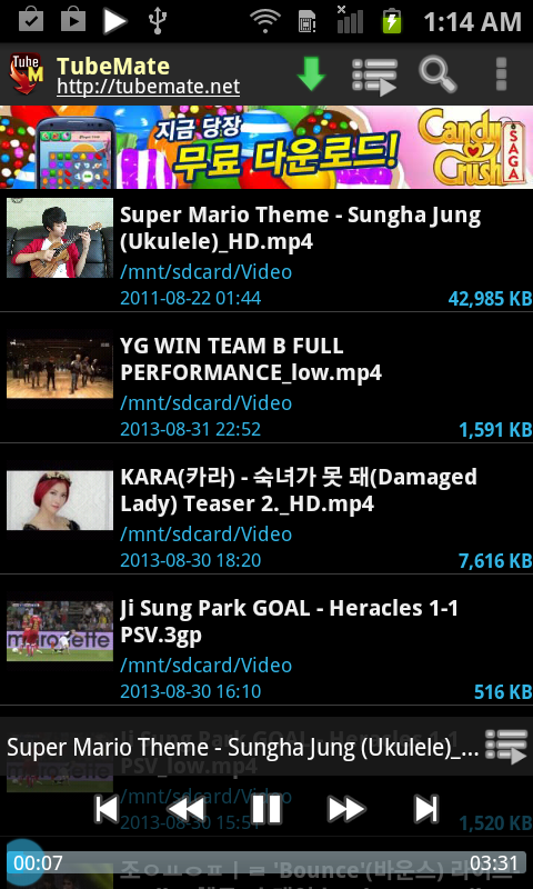 TubeMate YouTube Downloader screenshot 2
