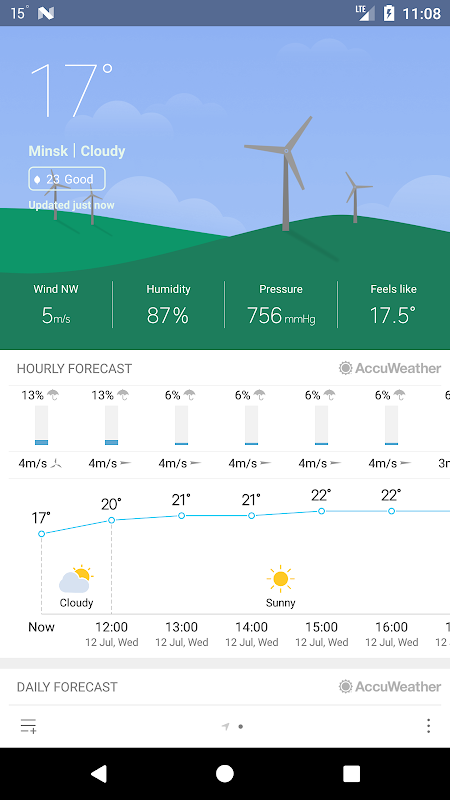 Weather Mate (Weather M8) screenshot 1