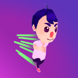 Real Hard Runner 3D Icon