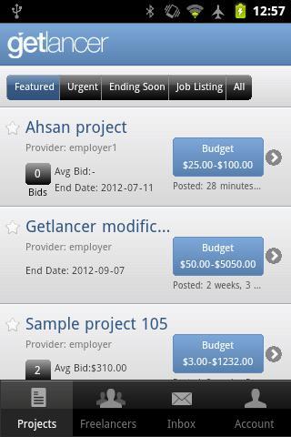Getlancer screenshot 1