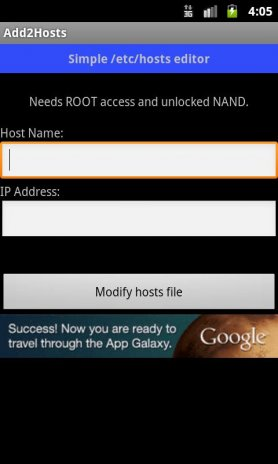 Add2Hosts 1 4 Download APK for Android - Aptoide