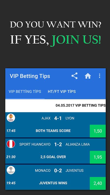 Betting Tips VIP screenshot 1