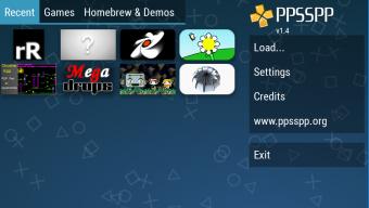 PPSSPP Gold - PSP emulator Screenshot