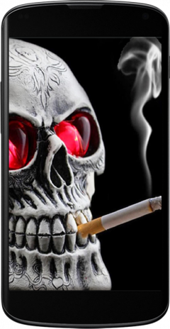 Smoking Skull Live Wallpaper 1 1 Download Apk For Android Aptoide
