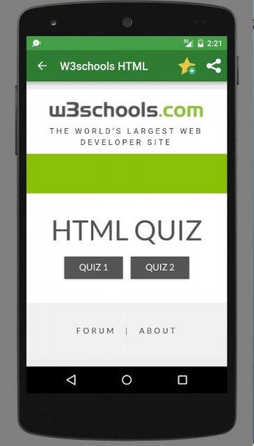 w3schools offline download apk for android aptoide