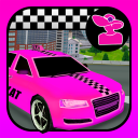 Pink Lady Crazy Taxi Driver 3D - New Car Game 2020