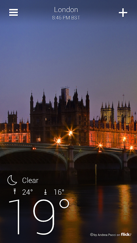 Yahoo Weather screenshot 2