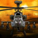 Kampfhubschrauber 3D-Flug