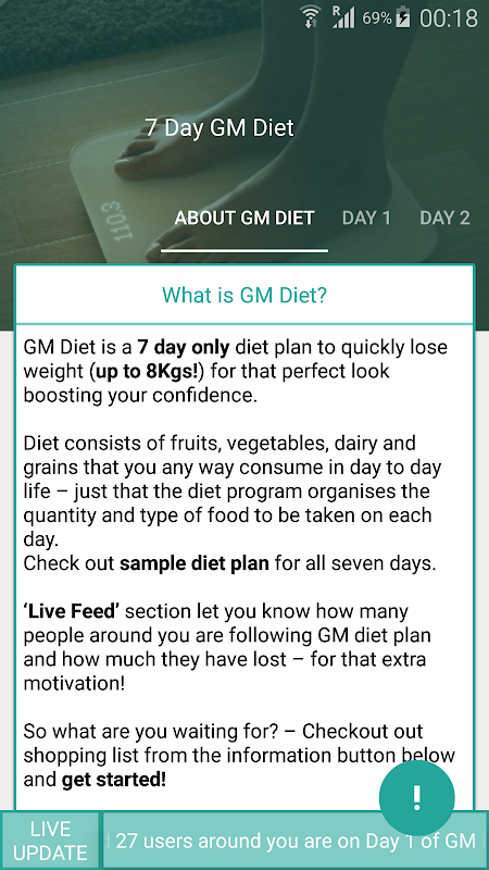 gm diet day 5 indian