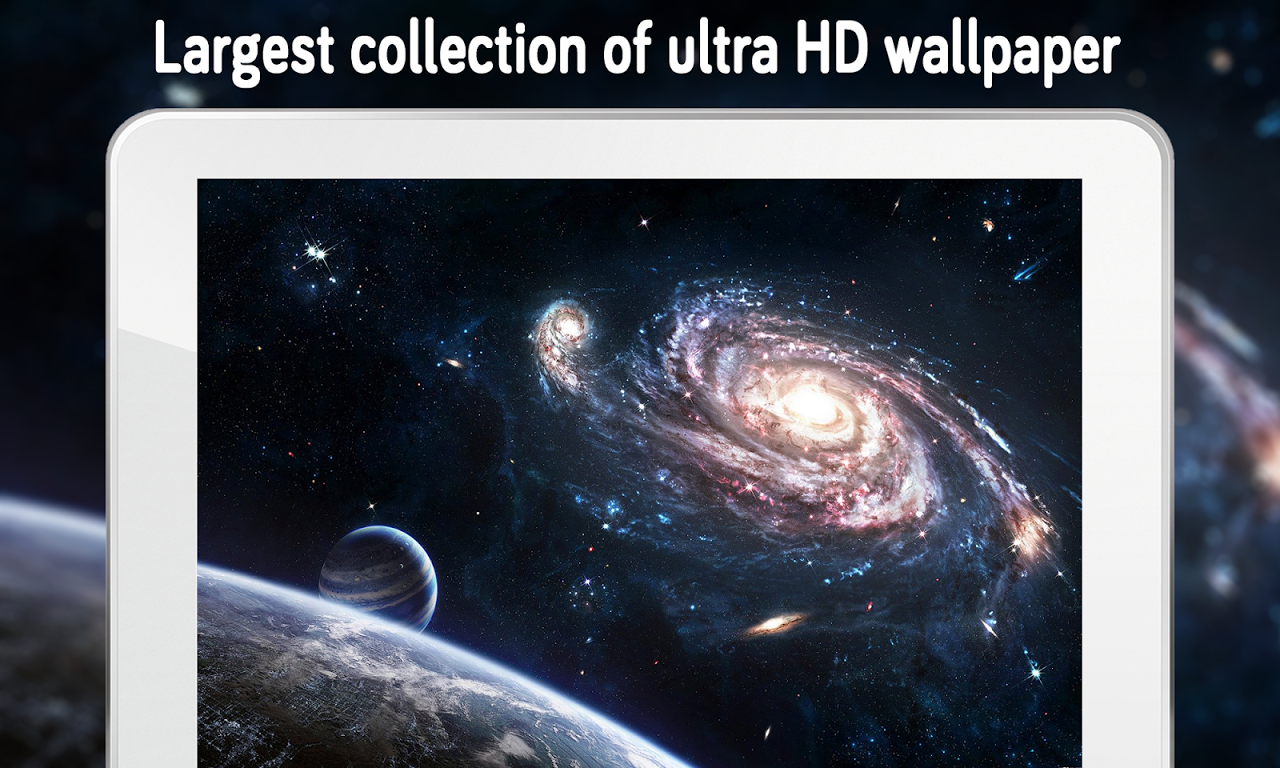 Space Galaxy and Planets k Wallpapers and