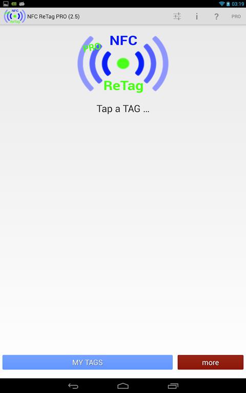 NFC ReTAG PRO screenshot 1
