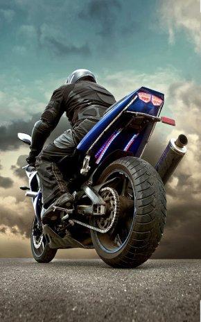 motorcycle live wallpaper screenshot 1 ...