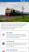 JadwalKA Kereta Api Indonesia Screen
