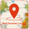 Mobile Real Number Locator Ikon