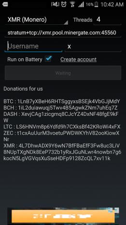 AA Miner (BTC,BCH,LTC,XMR,DASH   CryptoCoin Miner) 1 18 Download APK