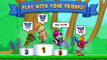 Fun Run 3 - Multiplayer Games Screen