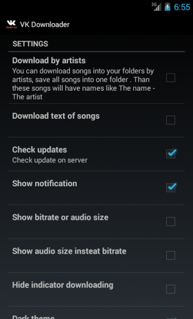 скачать vk music downloader android