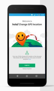 Fake GPS location - Hola screenshot 2