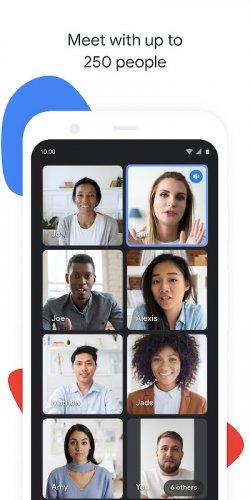 Google Meet screenshot 11