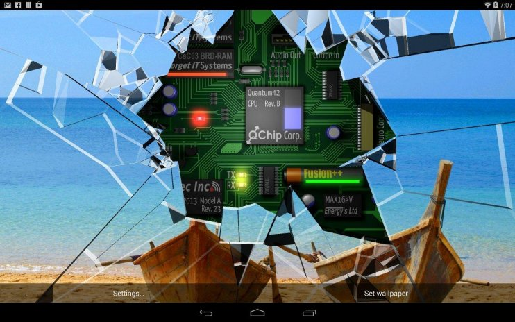 Cracked Screen Gyro 3d Parallax Wallpaper Hd 1 1 Download Apk For