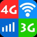 Wifi, 5G, 4G, 3G speed test - Speed check