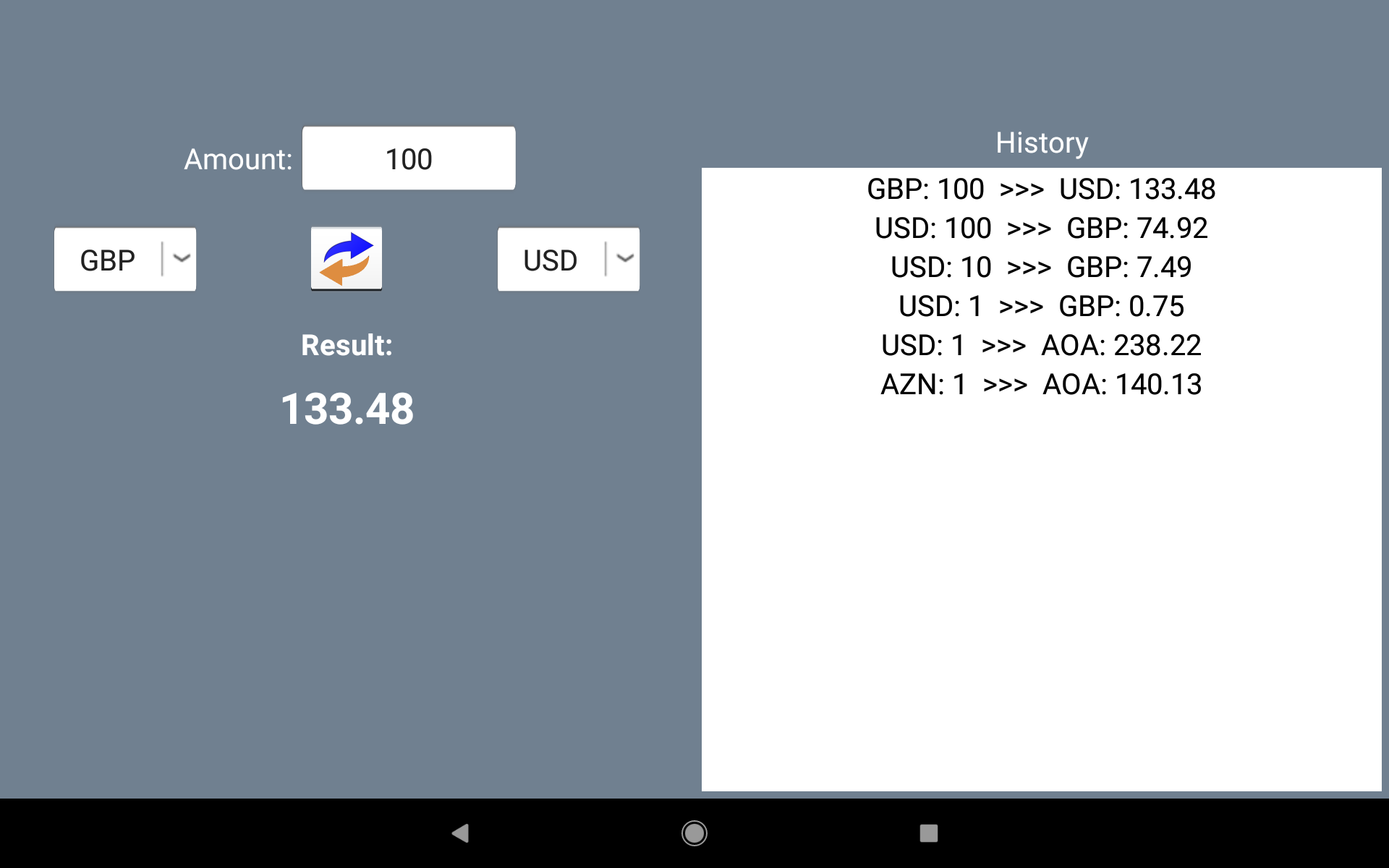 Currency Converter. Exchange rates and calculator screenshot 7