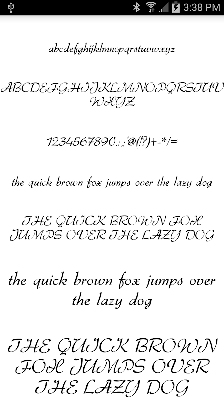 Fonts for FlipFont 50 #1 screenshot 2