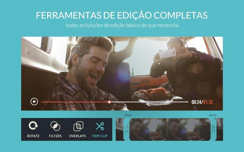 FilmoraGo - Editor de vídeo screenshot 6