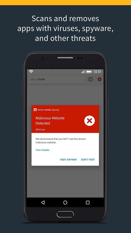 Norton Security and Antivirus screenshot 2
