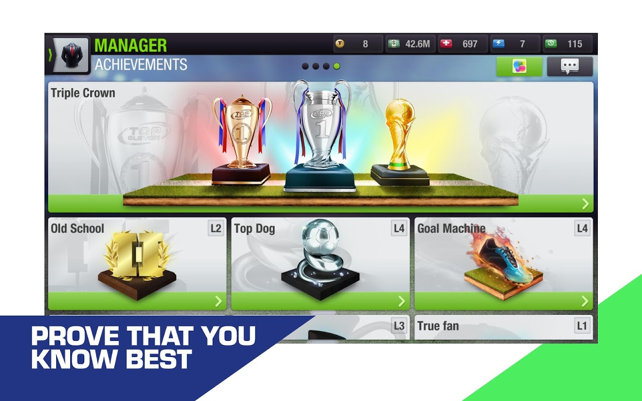Top Eleven 2019 - Be a Football Manager screenshot 13