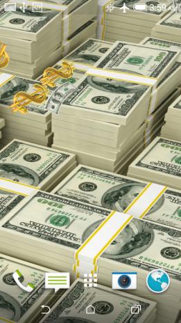 Money Live Wallpaper Screenshot 7