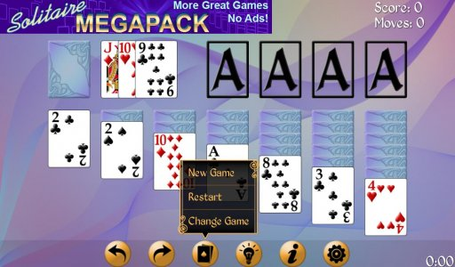 Solitaire Free Pack screenshot 12