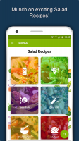 Salad Recipes: Healthy Foods with Nutrition & Tips Screen